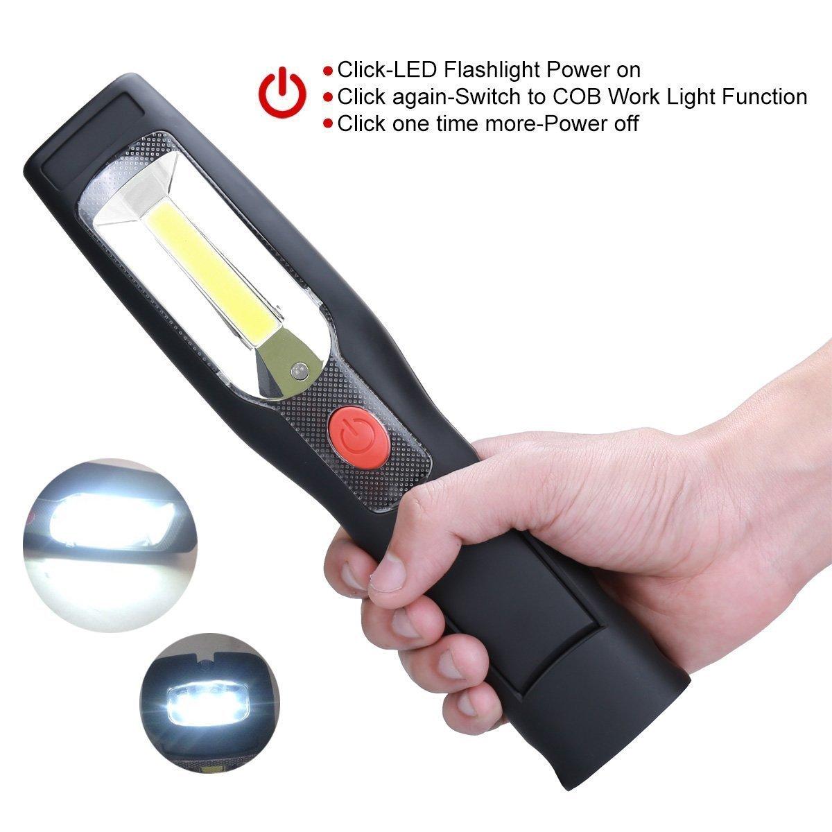 LED Arbeitsleuchte Handleuchte 45 LED 3 Watt tragbar Baustrahler Scheinwerfer