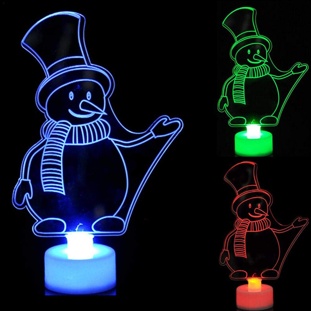 3d led lampe nuit lumiè re couleurs illusions bureau chambre dé cor noë l cadeau cré atif 3d homme snown lumiè re lumiè re 7 lumiè res LED lampe dé coration table lumiè re lampe de bureau Atuo Ra
