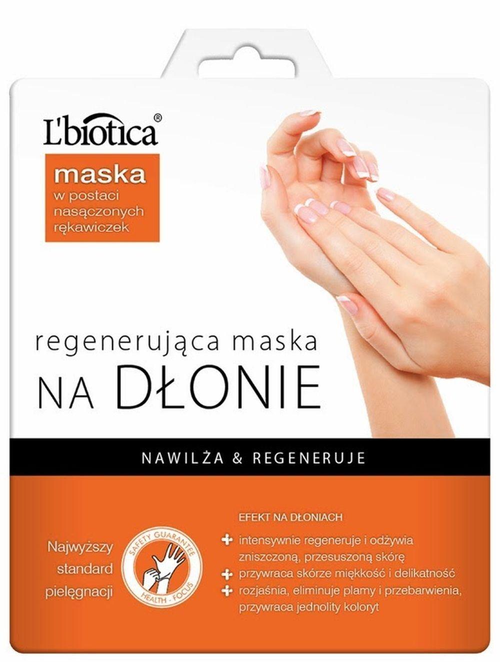 L'biotica Regenerating Hand Mask Moisturizing Gloves 26g L' biotica BHBS0405A3846