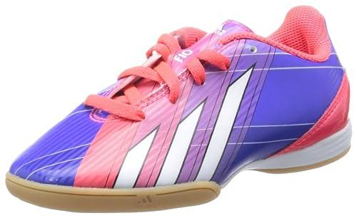 Adidas Zapatilla Jr F10 Dans Messi Turbo-violet, Turbo / Black1, 4 Au Royaume-uni