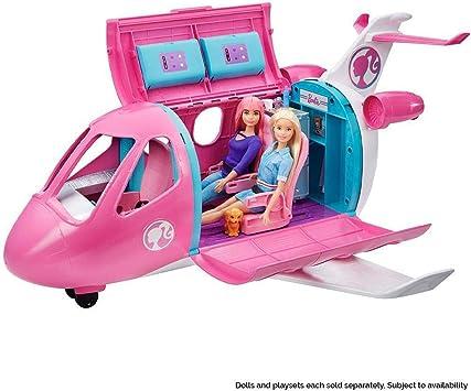 Amazon.es: Barbie Avión de tus sueños, avión de juguete con ...