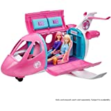 Barbie Dreamplane Transforming Playset with Reclining Seats and Working Overhead Compartments, 15 Plus Pieces Including…