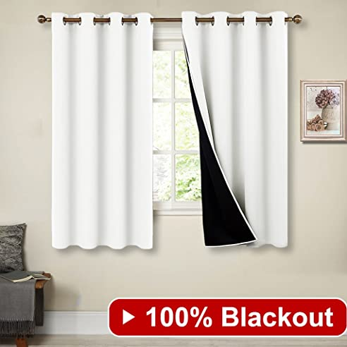 Amazon.De: 100% Blickdicht Vorhang Fenster Vorhänge Wohnzimmer