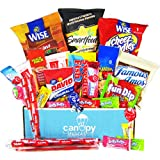 Snacks Care Package, snack gift, college assortment variety pack bundle (30 count)