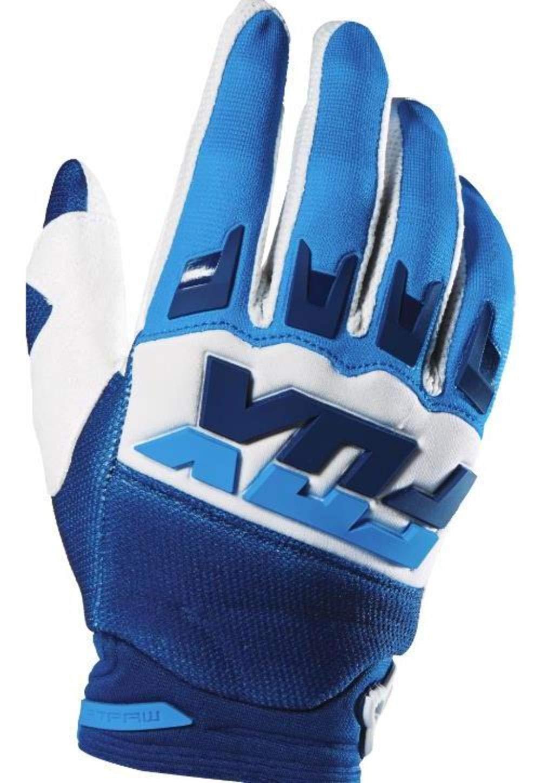 Fox Racing Dirtpaw Mako Men's MotoX Motorcycle Gloves - White/Large 5848085