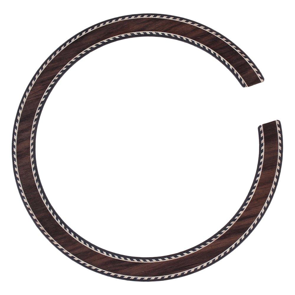 Mxfans B-23 Classical Wood Color Wood Inlaid Rosette Rosewood Acoustic Guitar Rosette blhlltd BLMN201806040345