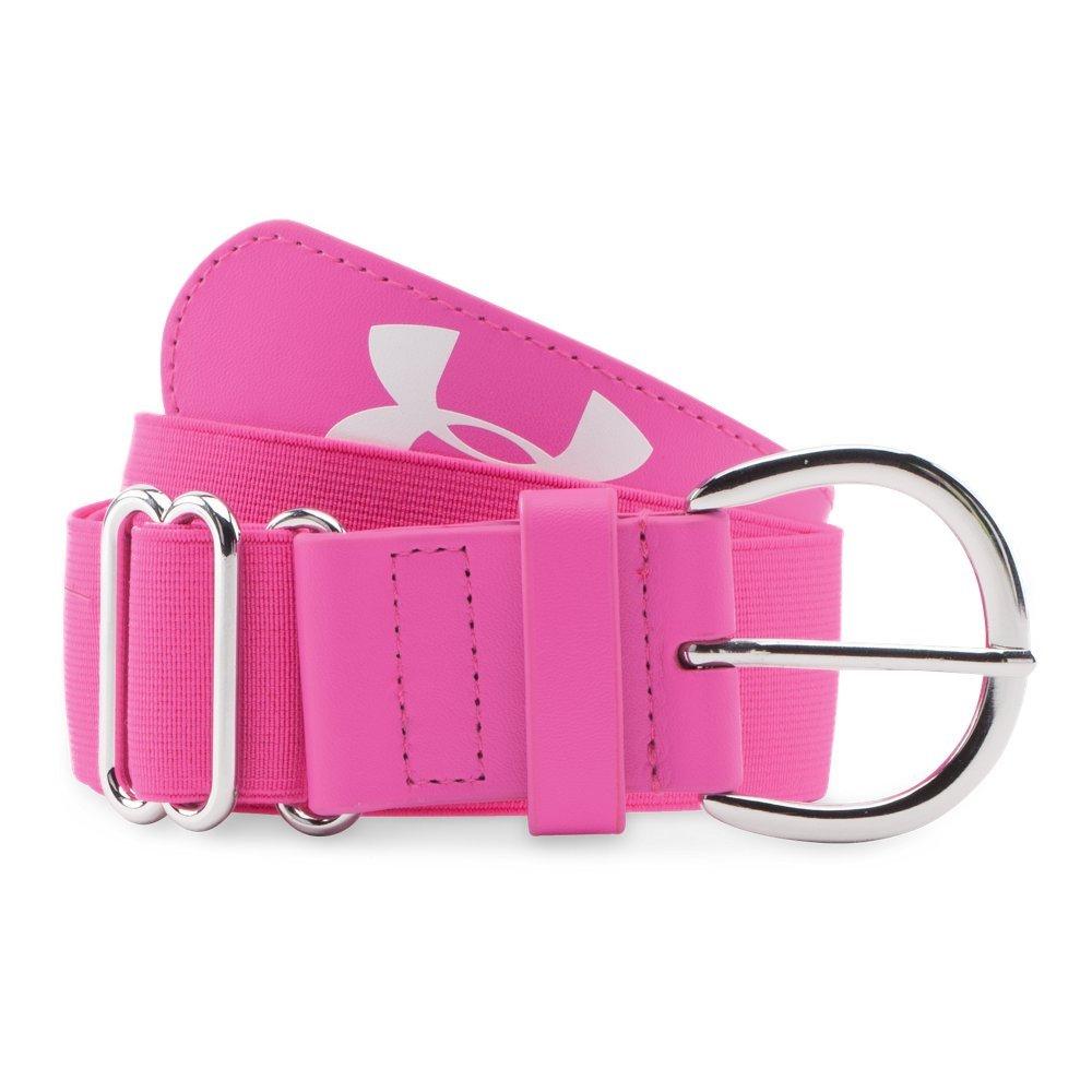 Under Armour Women's UA Softball Belt, Rebel Pink, OSFA