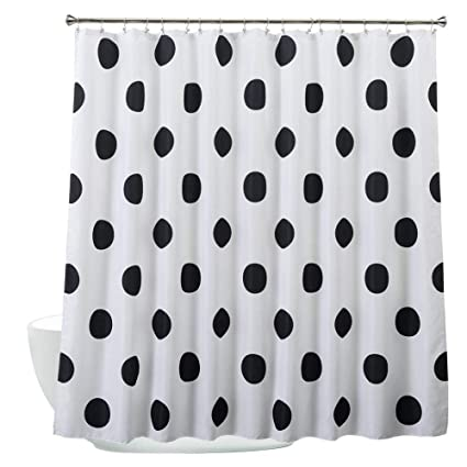 Amazoncom Cloud Dream Polka Dot Shower Curtainwaterproof And