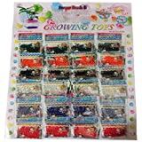 24 Bags, Water Beads, Crystal Gel Water Pearls, Aqua Jelly Beads, Water Growing balls, Crystal Mud Soil Water Beads for Wedding Centerpiece Vase Fillers, Plant decoration, refill & Sensory toys