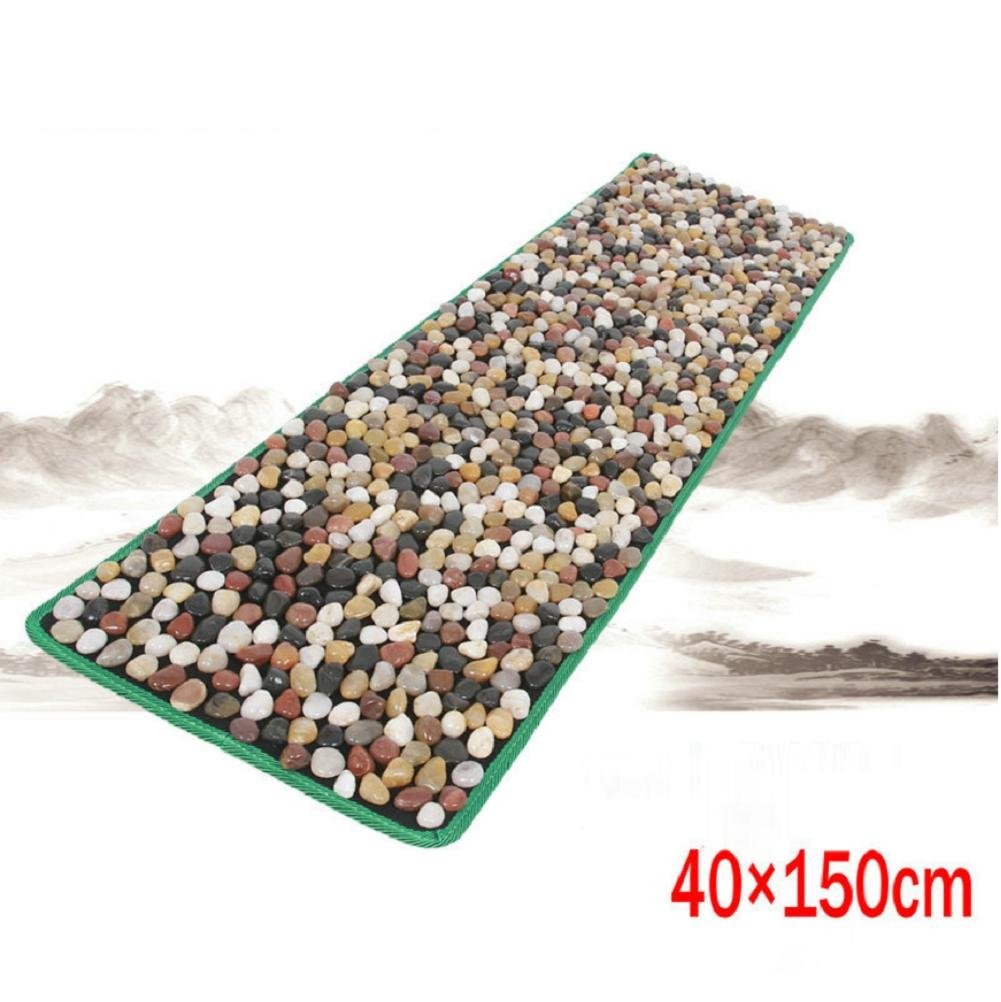 WE&ZHE Natural Pebbles Foot Massage Pad Foot Massager Foot Massage Blanket Health Care Products
