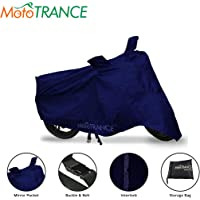 Mototrance Blue Bike Body Cover for Honda Activa 5G