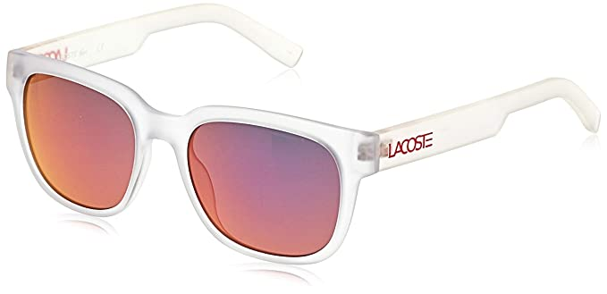 Amazon.com: Lacoste unisex-adult l830s rectangular anteojos ...