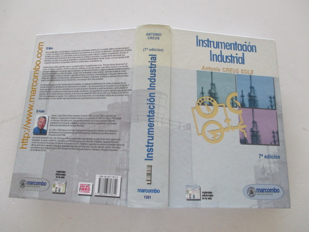 Instrumentación Industrial: Amazon.es: Antonio Creus Solé ...