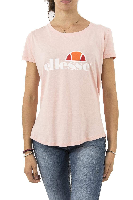 Col Gris Rond Tee Ellesse Shirt Uni Oversize ChinéT Femme TKF13uJ5cl