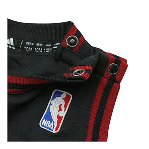 Amazon.com : Dwayne Wade Miami Heat Black NBA Infants Replica ...
