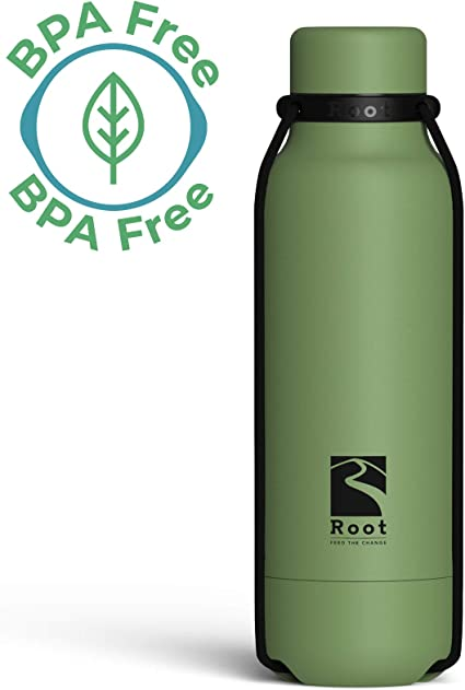 Poing Isotherme en Acier Inoxydable BPA Free Thermique Bouteille-Hot//Cold Drinks