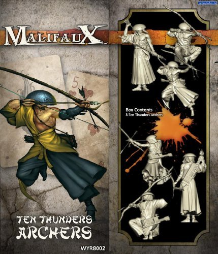 Wyrd Miniatures 20702 Ten Thunders Archer M2E - 3 by Wyrd Miniatures