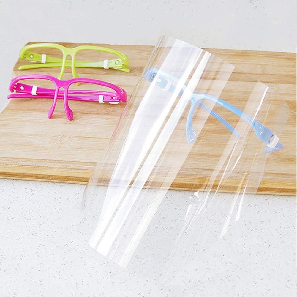 Paquet de 5 Masque de Protection Lunettes Anti-bu/ée Protection des Yeux Anti-bu/ée Protection des Yeux avec Cadre Photo Amovible Unisexe