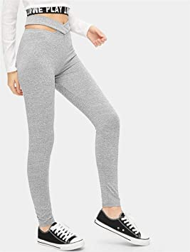 XXPF Leggings de Estiramiento Cruzado para Mujer Pantalones ...