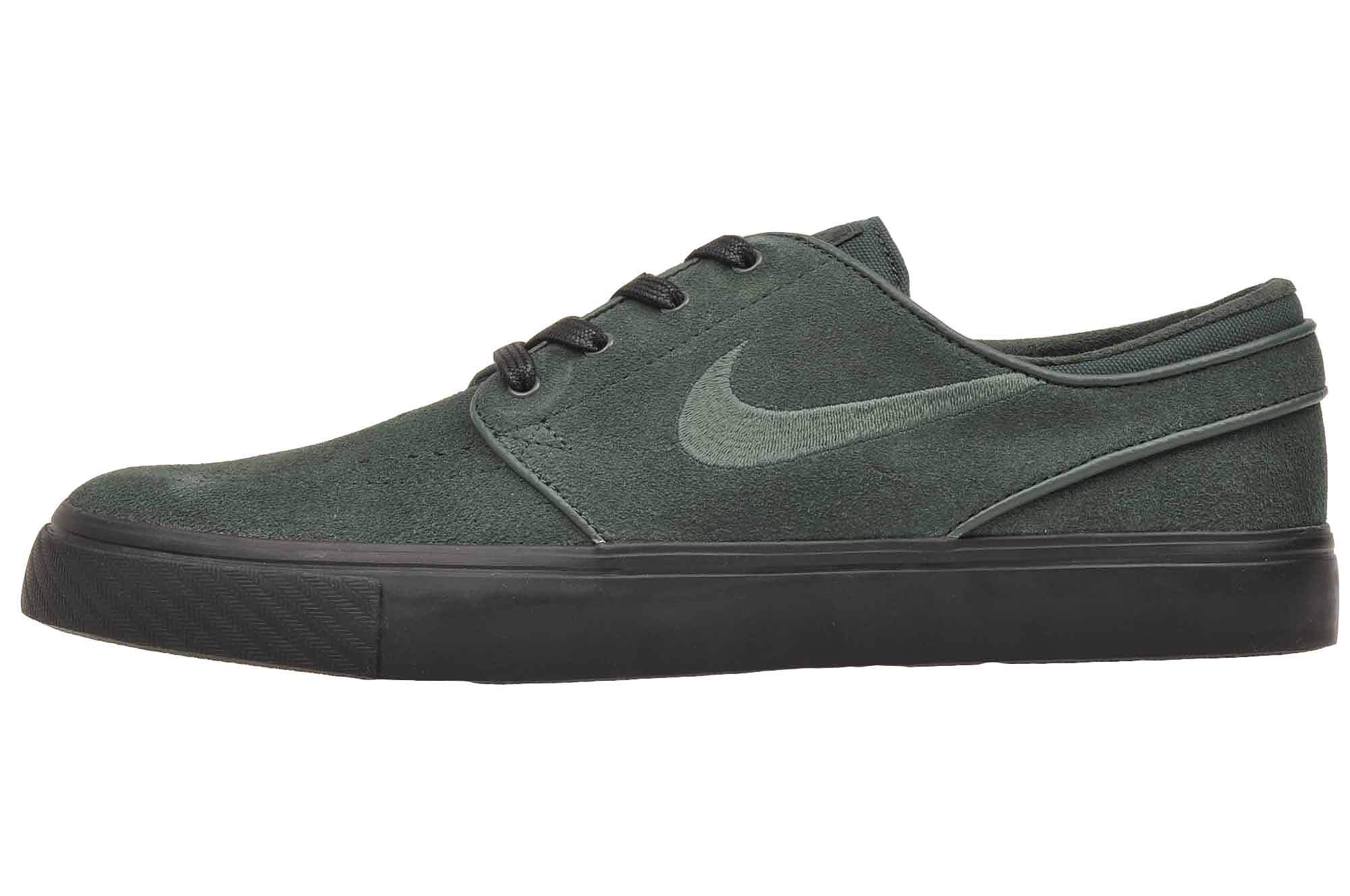 cheap for discount latest fashion later Nike Men's Zoom Stefan Janoski Skateboarding Shoes (Midnight Green/Midnight  Green, 11 D(M) US)