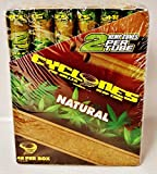 24 Cyclones Natural Hemp Pre Rolled Cones Non Tobacco Wood Dank 7 Tip 2 Per Tube