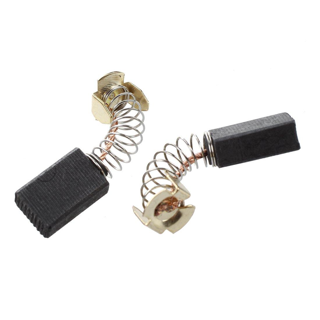 SODIAL(R) 8 piezas de Cepillo de carbono del motor 6mm x 10mm x 16mm reemplazo de cepillo de carbono para Makita CB-103