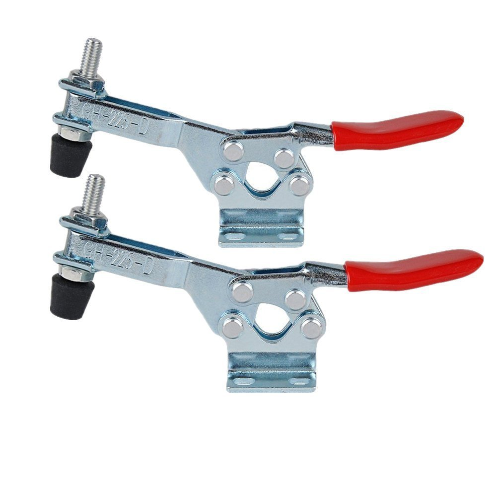 Antrader Push//Pull Quick Release Toggle Clamp 150Kg//330Lbs Holding Capacity GH-302-FM 2pcs
