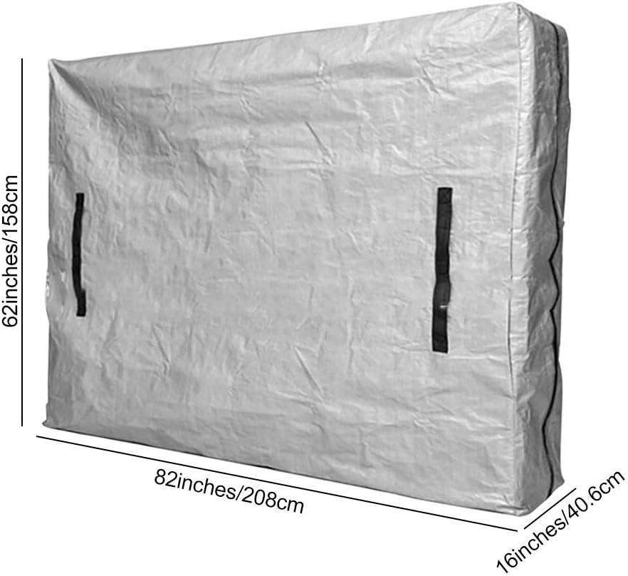 taille CRIB prot/ège-matelas r/éutilisable robuste avec fermeture /à glissi/ère solide Sac /à matelas avec fermeture /à glissi/ère pour le d/ém/énagement et le rangement housse tr/ès /épa