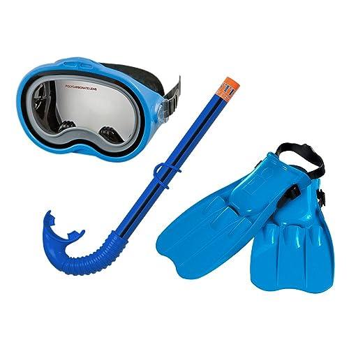INTEX Kit de plongée Bleu