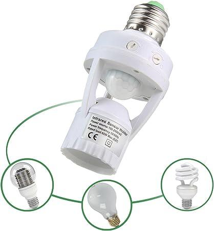 Lampe LED avec détecteur de mouvement Capteur lumineux PIR