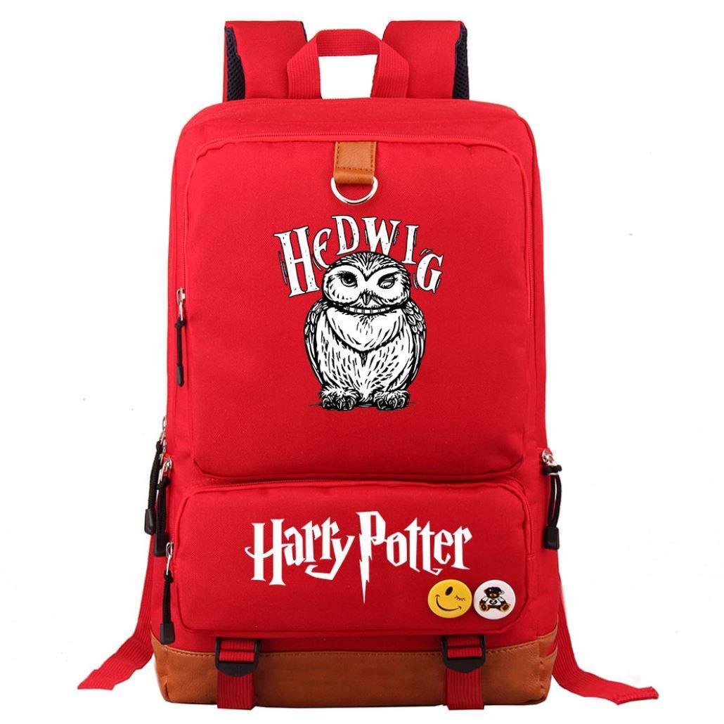 Boy Girl School Bag Women Bagpack Teenagers Schoolbags Canvas Men Student Backpack(9) by eleganceoo