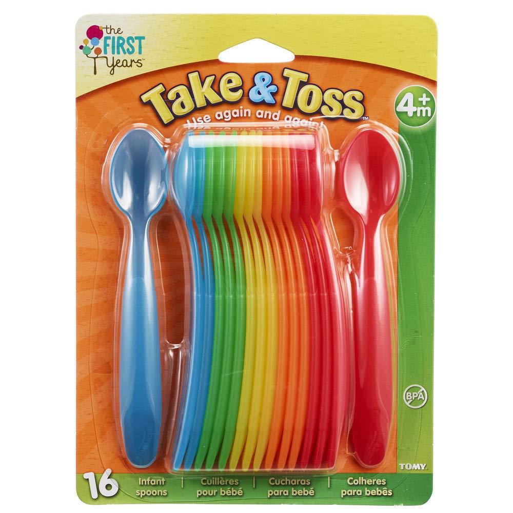 Amazon.com: Los Primeros Años Take & Toss cucharas 16 PK: Beauty