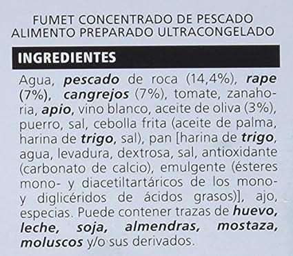 La Sirena -Fumet De Pescado De Roca 250 gr: Amazon.es ...