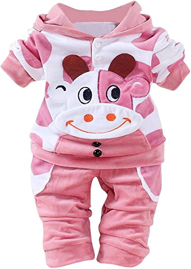 Love Cows Infant Baby Boys Girls Short Sleeve Romper Bodysuit Tops 0-24 Months