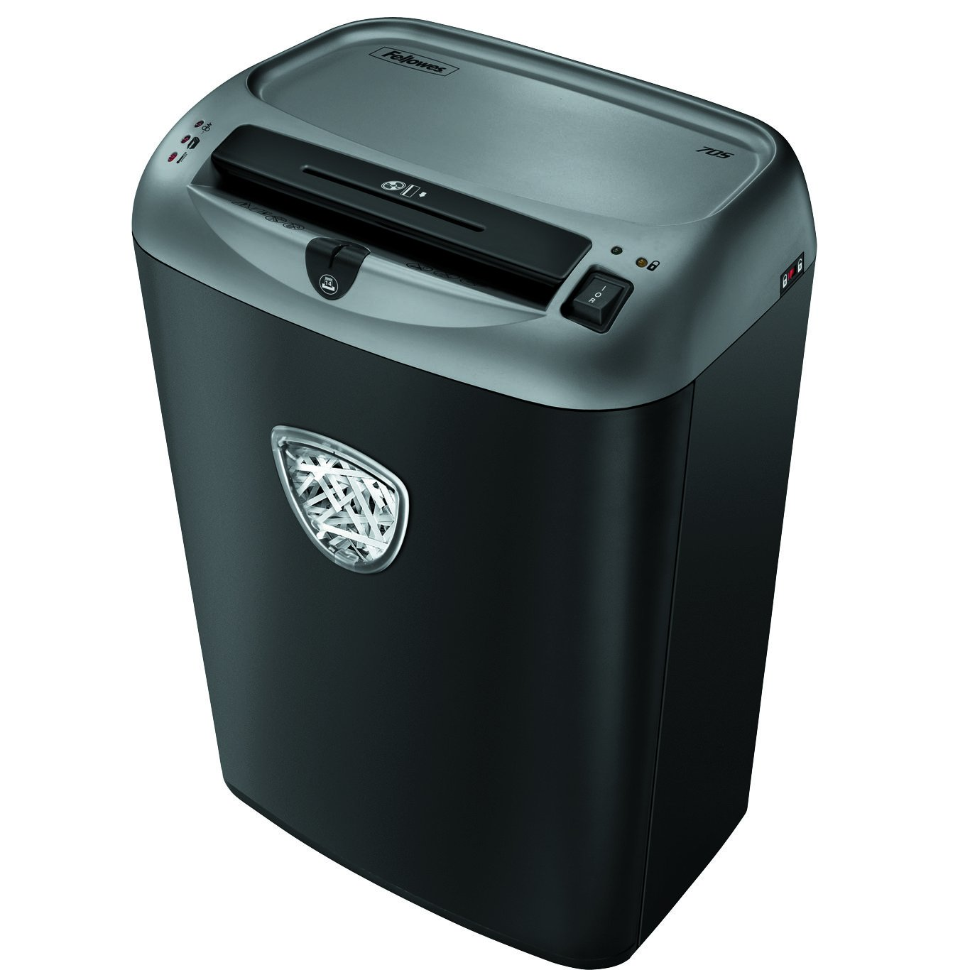 Fellowes Powershred 70S 14-Sheet Strip-Cut Paper and Credit Card Shredder with SafetyLock (4671001)
