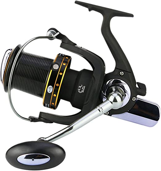 Mele & Co Pesca Spinning Carrete Metal distante Rueda 6000-10000 ...
