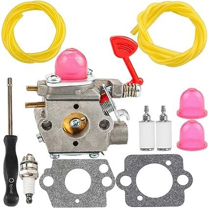 Amazon com: WT-875 Carburetor fit Craftsman BVM200C BVM200VS