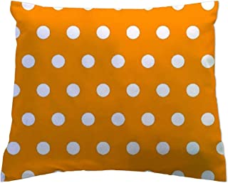 product image for SheetWorld - Toddler Pillowcase Hypoallergenic Made in USA - Polka Dots Gold 13 x 17