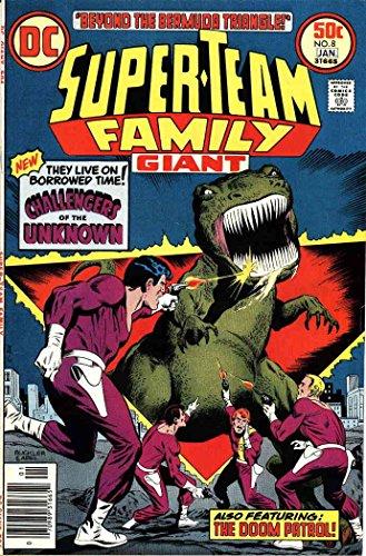 Super-Team Family #8 FN ; DC comic (1977 Dc Comic Book)