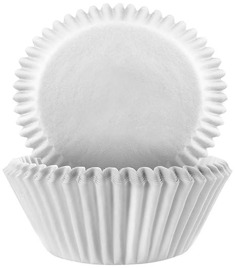 White IBILI Baking Cup Set 24 x 12 x 5 cm paper