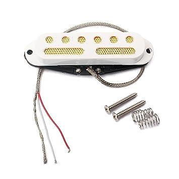 FidgetGear Alnico 5 - Juego de 3 pastillas para guitarra eléctrica ST (48/50/52 mm): Amazon.es: Instrumentos musicales