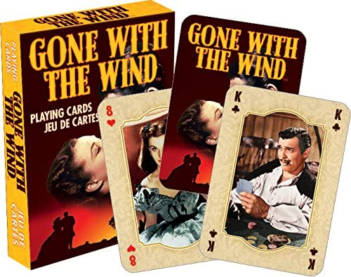 Aquarius Gone with The Wind Playing Cards