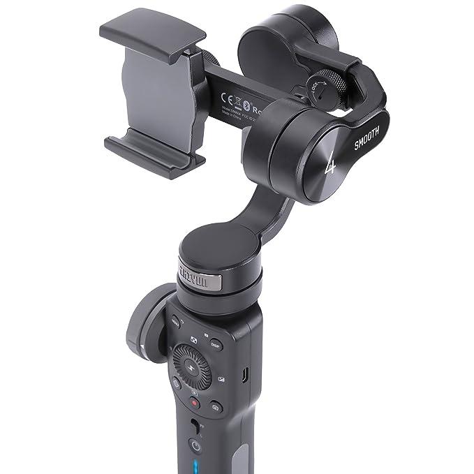 Amazon.com: Zhiyun Smooth 4 Gimbal para Smartphone de mano ...