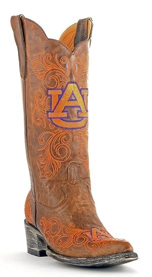 NCAA Auburn Tigers Damen 33 cm Gameday Stiefel  schwarz