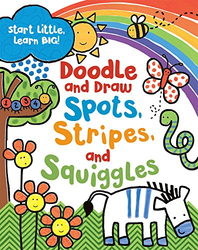 Stripe Squiggle - Doodle and Draw Spots, Stripes and Squiggles (Doodle Books)