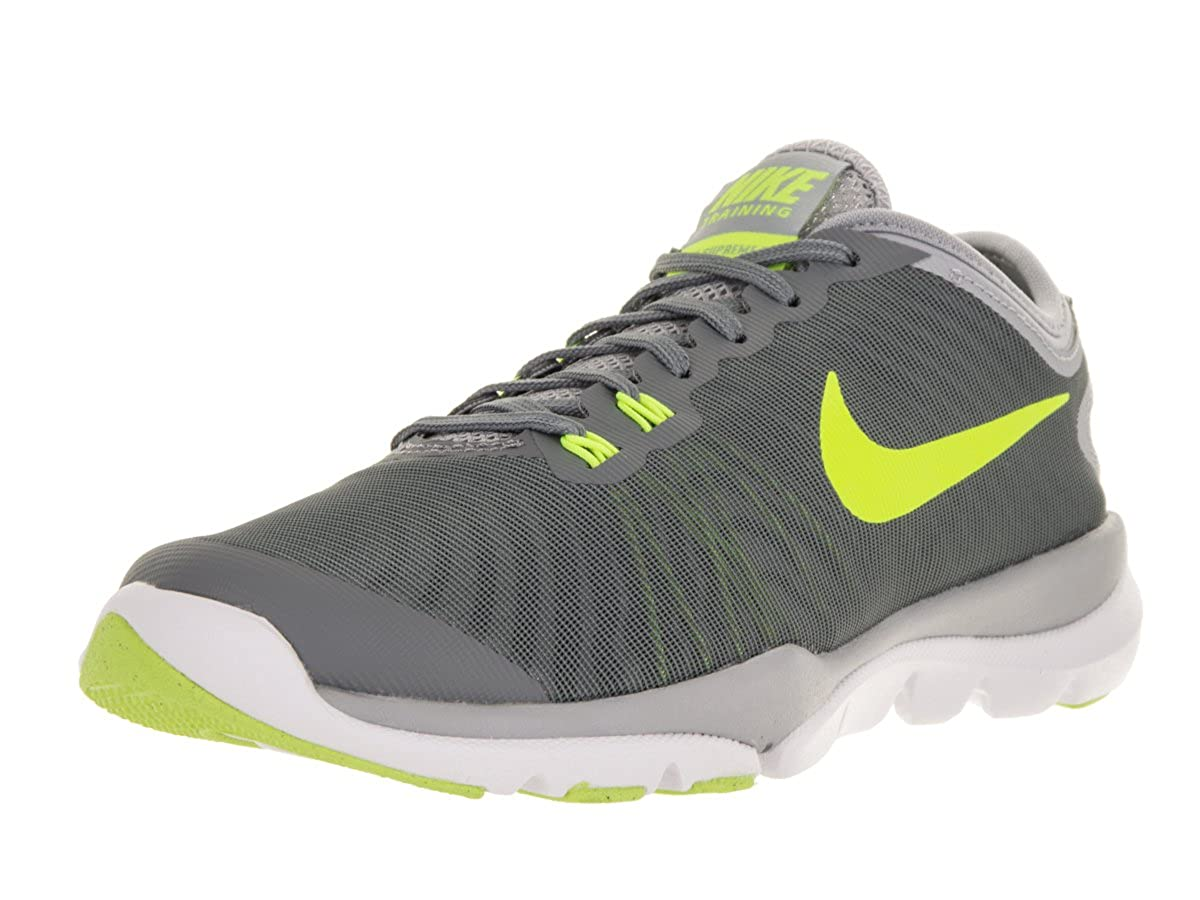 6c52a223f75 Nike WMNS Flex Supreme TR 4 Cross Trainers (7 UK) Grey  Nike  Amazon.in   Shoes   Handbags