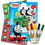 Thomas the Train Stickers Coloring Activity Set With, Washable Markers, Sticker Sheets and Coloring Pages