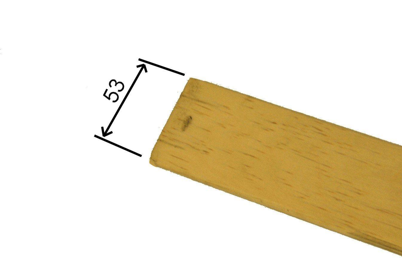 Kit 8 pi/èces Remplacement pour Lattes RETI GRITTI Sommier Gris 8 Lattes courb/ées en Bois de Bouleau 5,3 x 89 x 0,8 cm