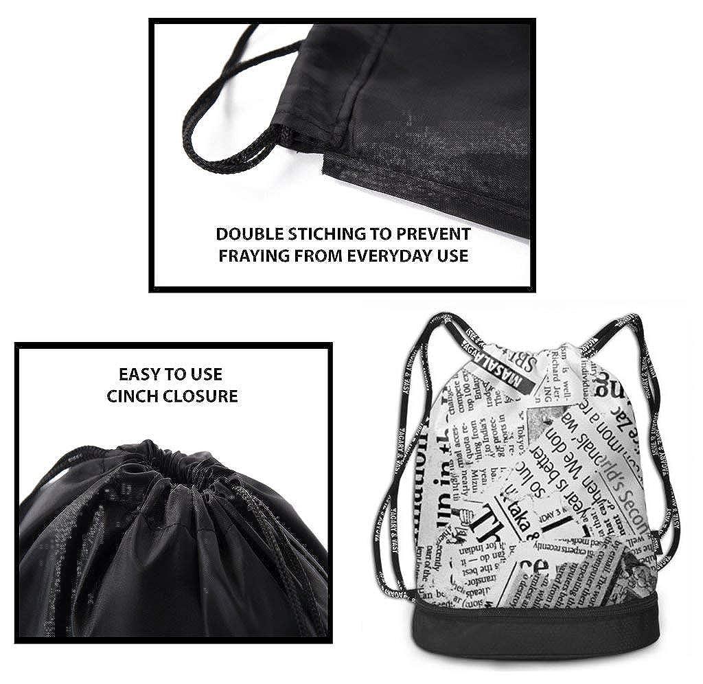 Amazon.com: Bolsa de poliéster con cordón para ...