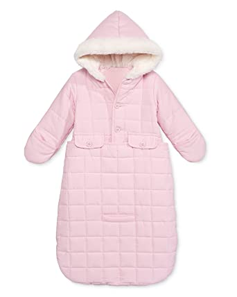 e9aade9a396e Amazon.com  First Impressions Baby Girls  Jacket Snowbag with Faux ...